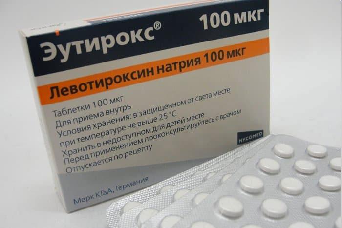 Эутирокс является синтетическим аналогом гормона щитовидной железы тироксина