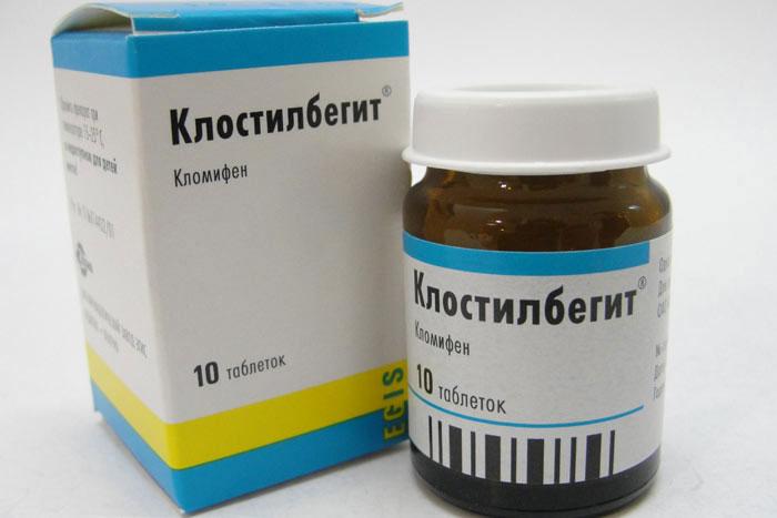 Клостилбегит - антиэстрогенное средство, стимулирующее производство репродуктивных гормонов