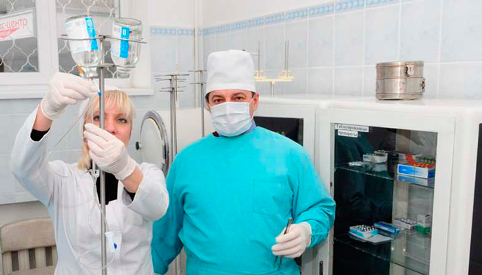 Манипуляционная в наркологической клинике «Сана» (Харьков)