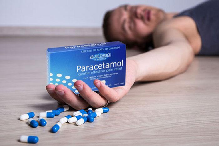 Совмещение Парацетамола с алкоголем может привести к смерти