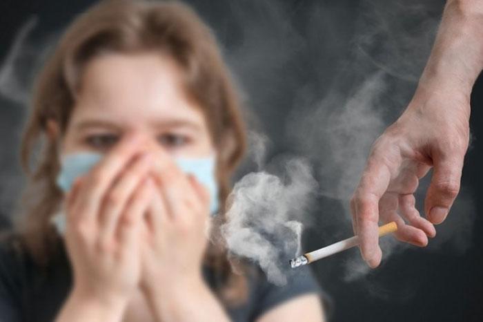 Табачный дым отравляет органы и системы организма, понижает иммунитет