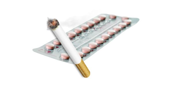 Совмещение противозачаточных средств с курение может вызвать негативные реакции организма