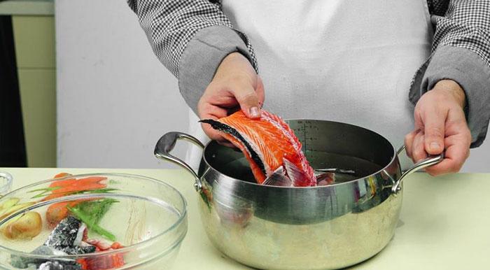 Приготовление рыбного бульона