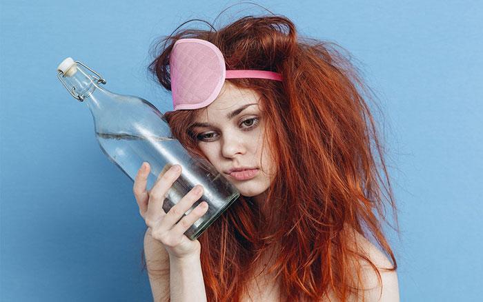Похмелье является реакцией организма на алкогольную интоксикацию