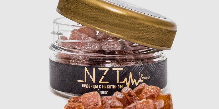 Леденцы NTZ для лечения никотиновой зависимости