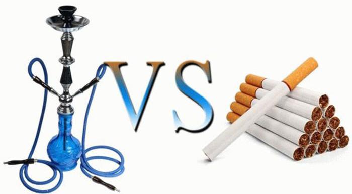 Курение кальяна менее опасно из-за нескольких этапов очистки дыма при выпаривании табачных листьев