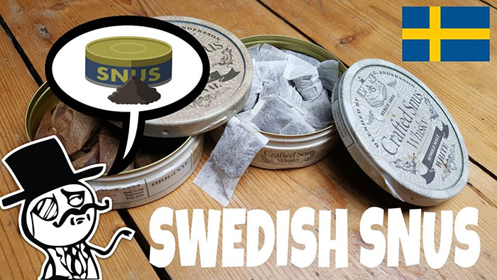 Снюс начали употреблять в Швеции в 1637 году