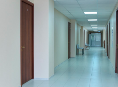 Холл в медицинском центре «Премиум» (Нижний Новгород)