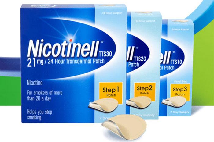 Пластырь Никотинелл относится к заместительной терапии никотиновой зависимости