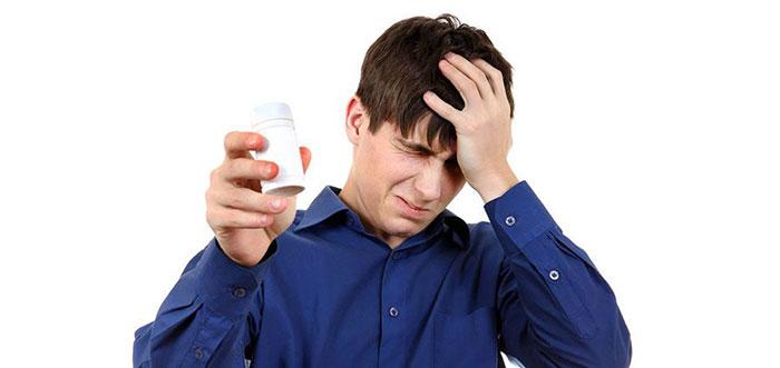 Таблетки от курения Зибан при неправильном употреблении могут вызвать побочные реакции