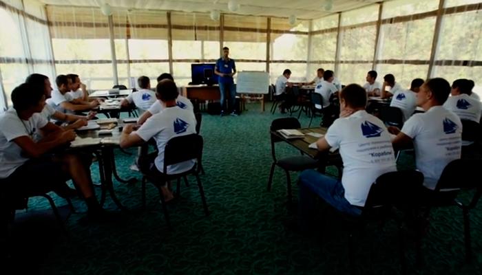 Лекция для постояльцев в реабилитационном центре «Корабли» (Нижневартовск)