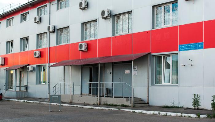 Расположение главного офиса реабилитационного центра «Пирамида» (Липецк)