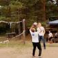 Игра постояльцев в волейбол в реабилитационном центре «Корабли» (Нижний Новгород)