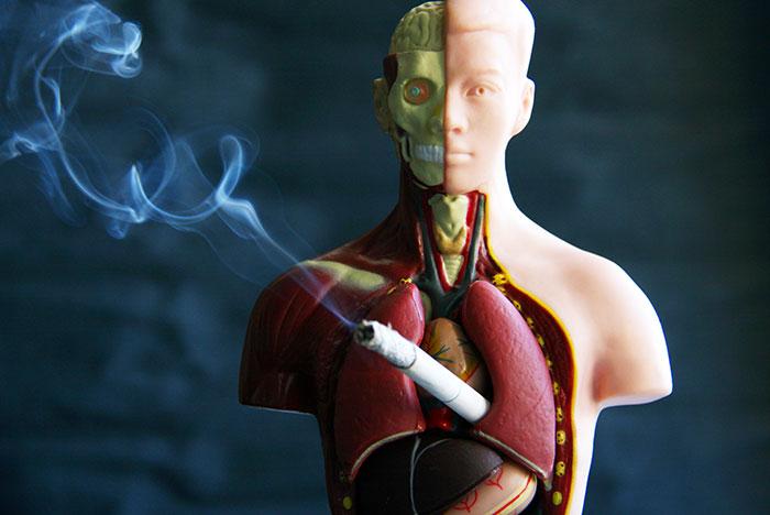 Индекс курильщика помогает определить риск появлению обструктивной болезни лёгких