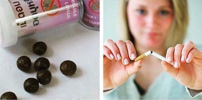 Комплексное воздействие тайских шариков на организм со временем приводит к отказу от сигарет