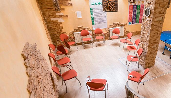 Зал для занятий в реабилитационном центре «Первый шаг» (Чебоксары)