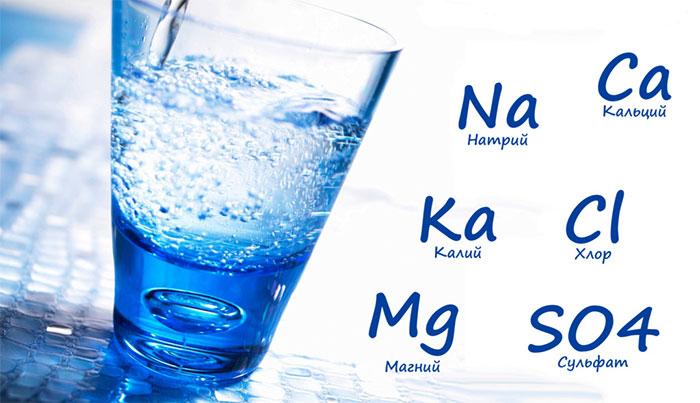 Состав минеральных вод отличается в зависимости от места и источника добычи