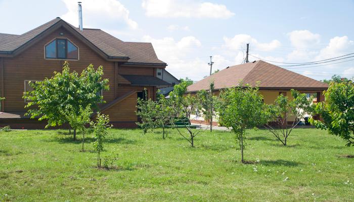 Территория наркологической клиники «Грост» (Одесса)