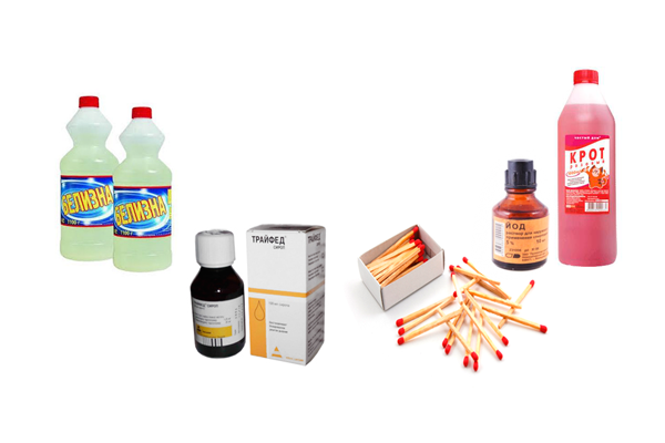 Компоненты с которых зависимые изготовляют наркотик Винт