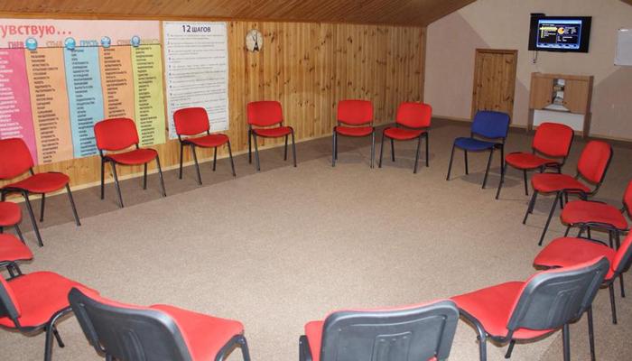 Зал для занятий в реабилитационном центре «Шанс» (Одесса)