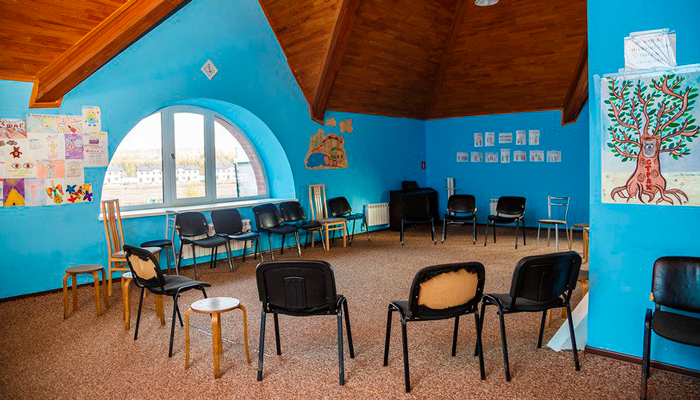 Зал для занятий в реабилитационном центре «Возрождение» (Новосибирск)