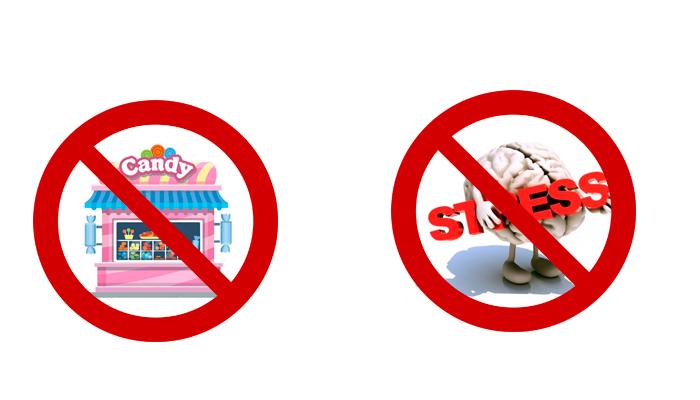Отказ от похода в кондитерский магазин и избежание стресса для избавления от шоколадной зависимости