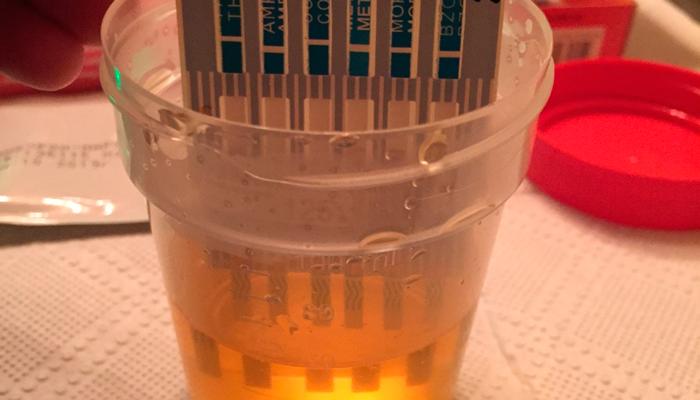 Процесс проведения ХТИ на наркотические вещества