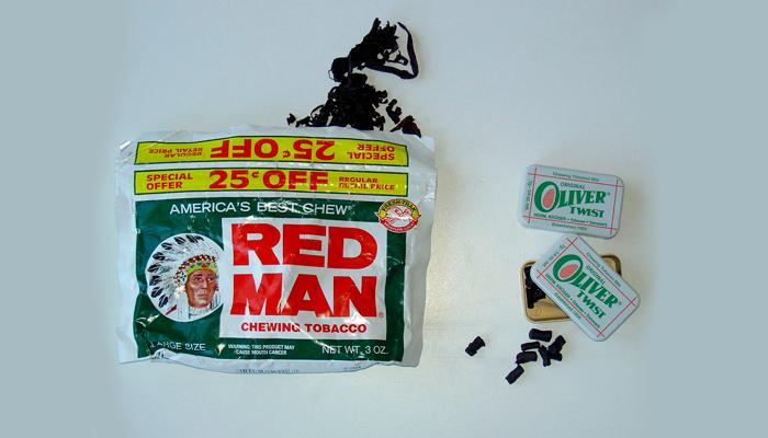 Американский и скандинавский жевательные табак