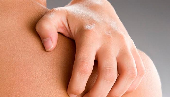 Зуд кожи при сенсибилизирующей реакции организма