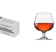 Аллопуринол и алкоголь: совместимость лекарственного препарата и спиртного