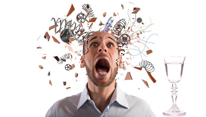 Стресс и облысение в следствии злоупотребления алкоголем