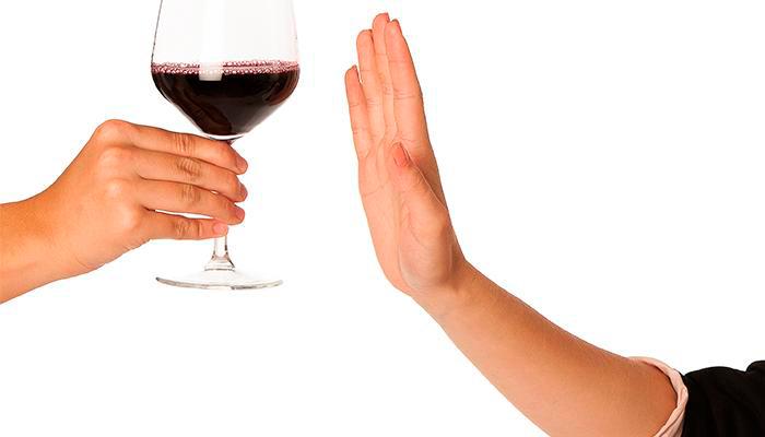 Отказ пьяниц от алкоголя в нужный момент