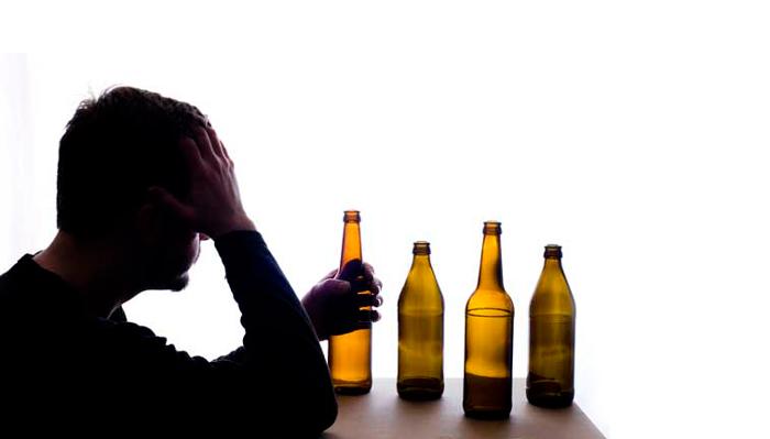 Появление крапивницы в следствии злоупотребления алкоголем
