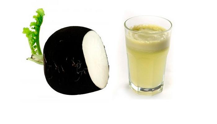 Сок черной редьки для лечения билиарного цирроза печени