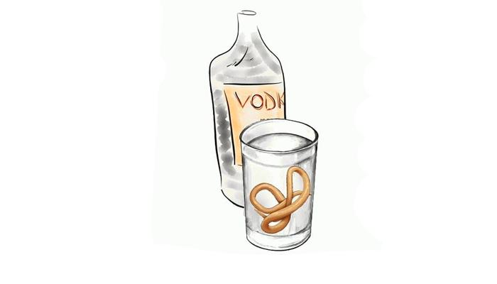 Действие спиртного на глистов
