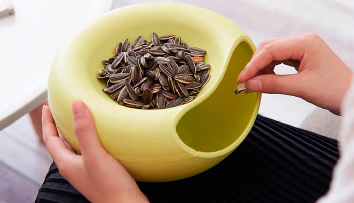 Замена занятию грызть ногти на семечки