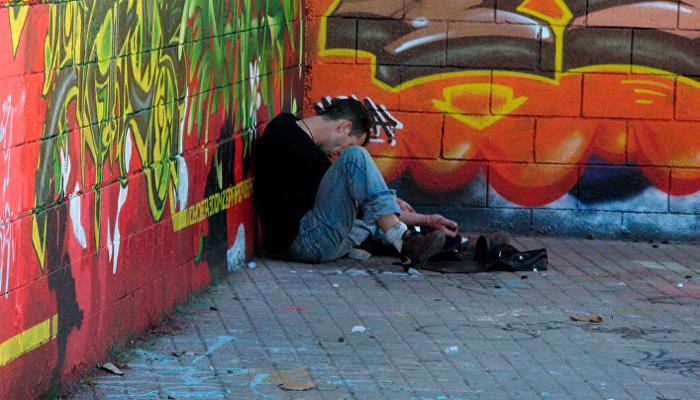 Обморок зависимого на третьей стадии наркомании