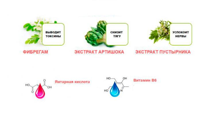 Состав препарата Алкостоп