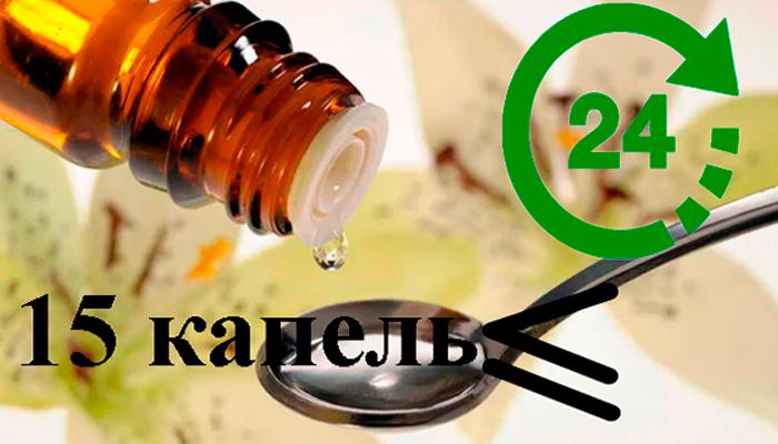 Схема применения лекарственного средства Антиал