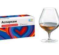Аспаркам и алкоголь: совместимость лекарственного препарата и спиртного