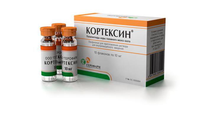 Форма выпуска лекарства Кортексин