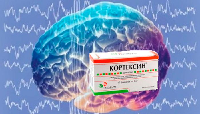 Оптимизация биоэлектрической активности мозга при приеме лекарства Кортексин
