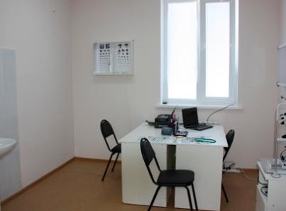 Кабинет окулиста в медицинском центре «Балтийская жемчужина» Санкт-Петербург