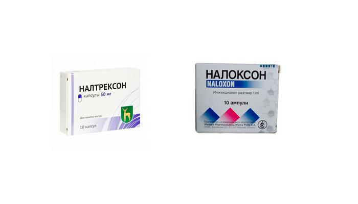 Налтрексон и налоксон для устранения наркотической зависимости