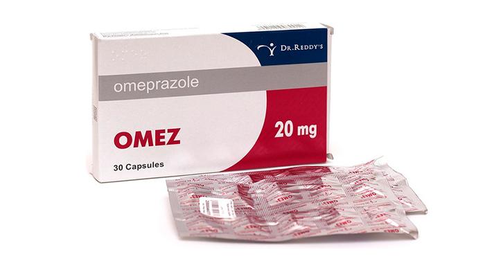 Форма выпуска лекарства Омез