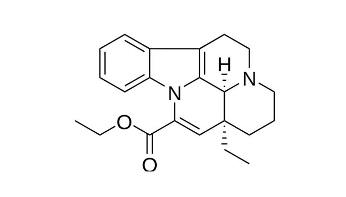 Химическая формула Винпоцетина