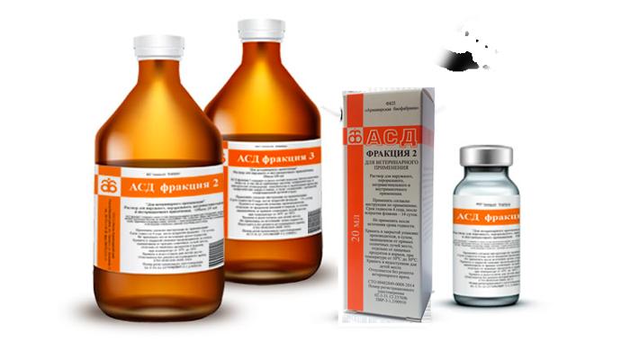 Варианты выпуска лекарства АСД