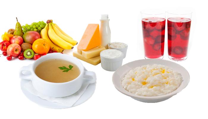 Перечень продуктов рекомендуемых к употреблению при похмелье