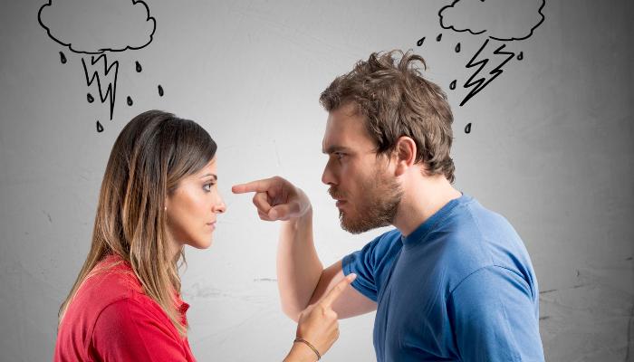 Постоянные ссоры в семье, как один из поводов бросить пить