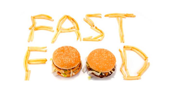Фастфуд, как еда которую в основном употребляют люди страдающие психогенным перееданием